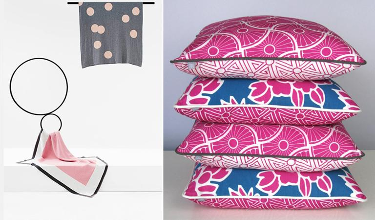 COOL CUSHIONS & THROWS