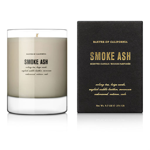Woody: Smoke Ash candle