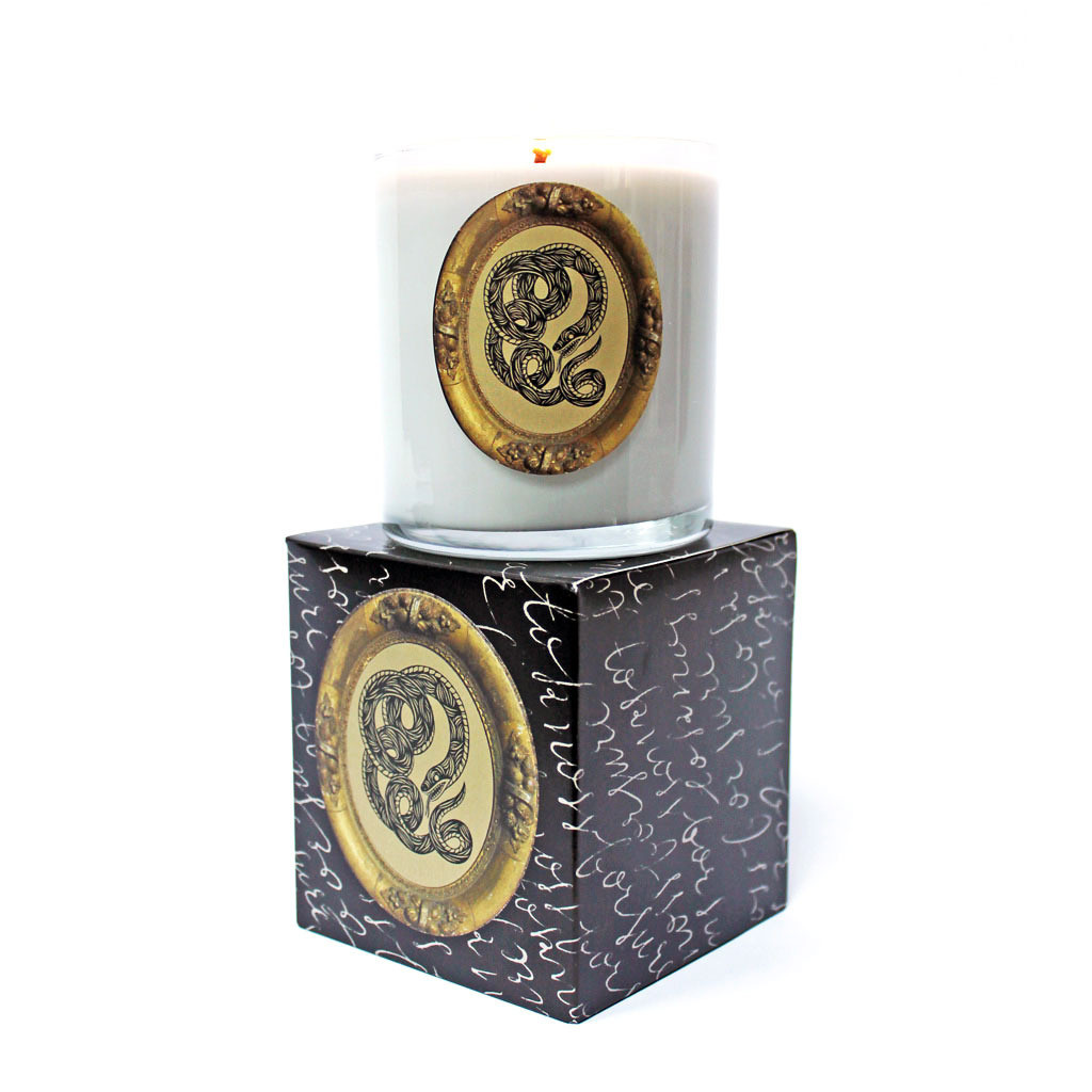 Fresh & Clean: Serpent candle