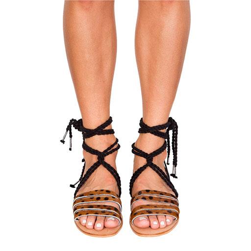 Hemingway rope sandals