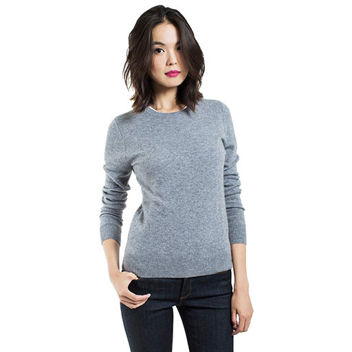 Cashmere Crew Sweater