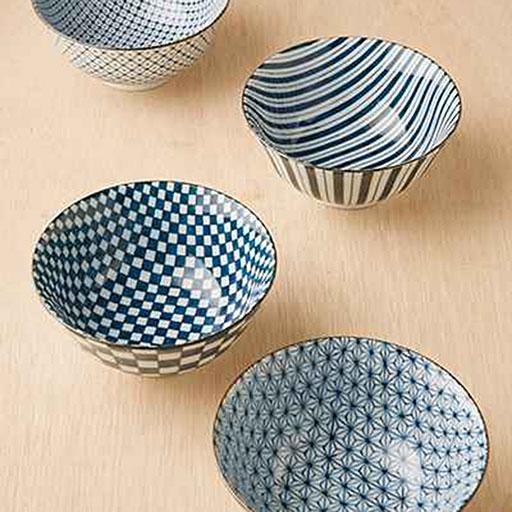 Printed Rice Bowls