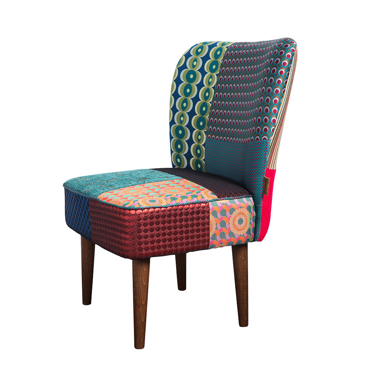 Patchwork Jacquard Chair