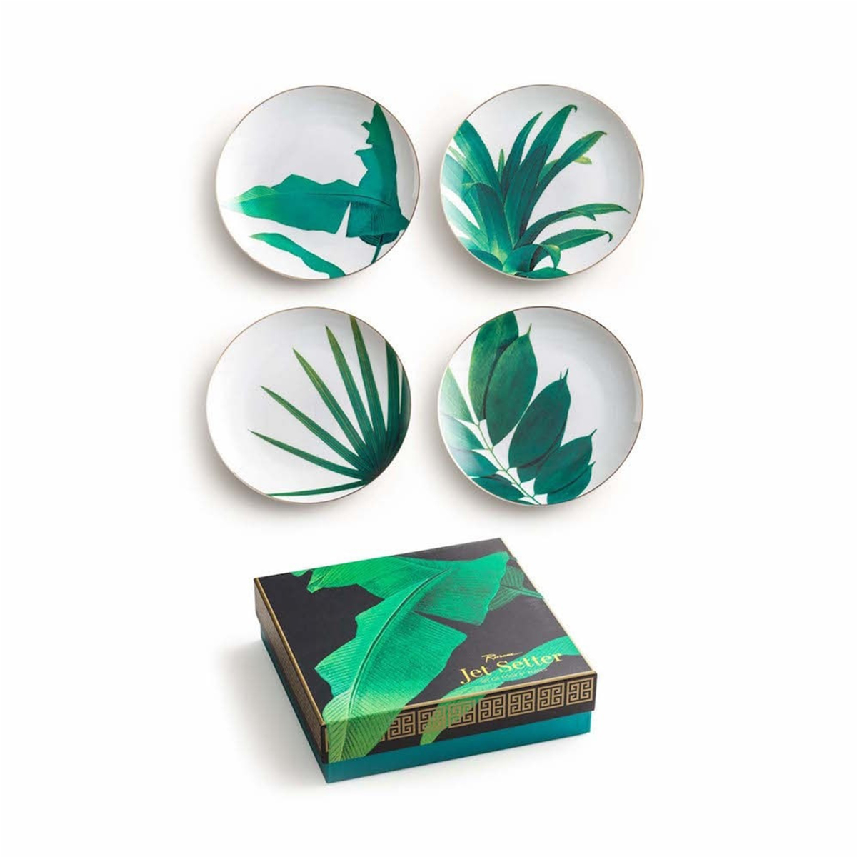 Botanical Plate Set