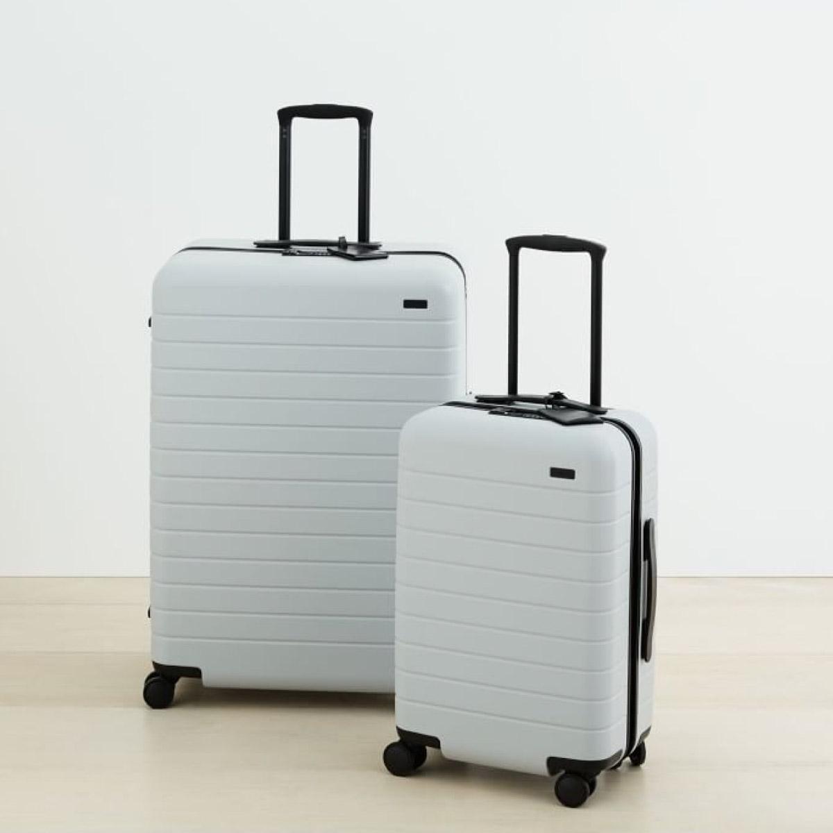 Suitcase Set in Platinum