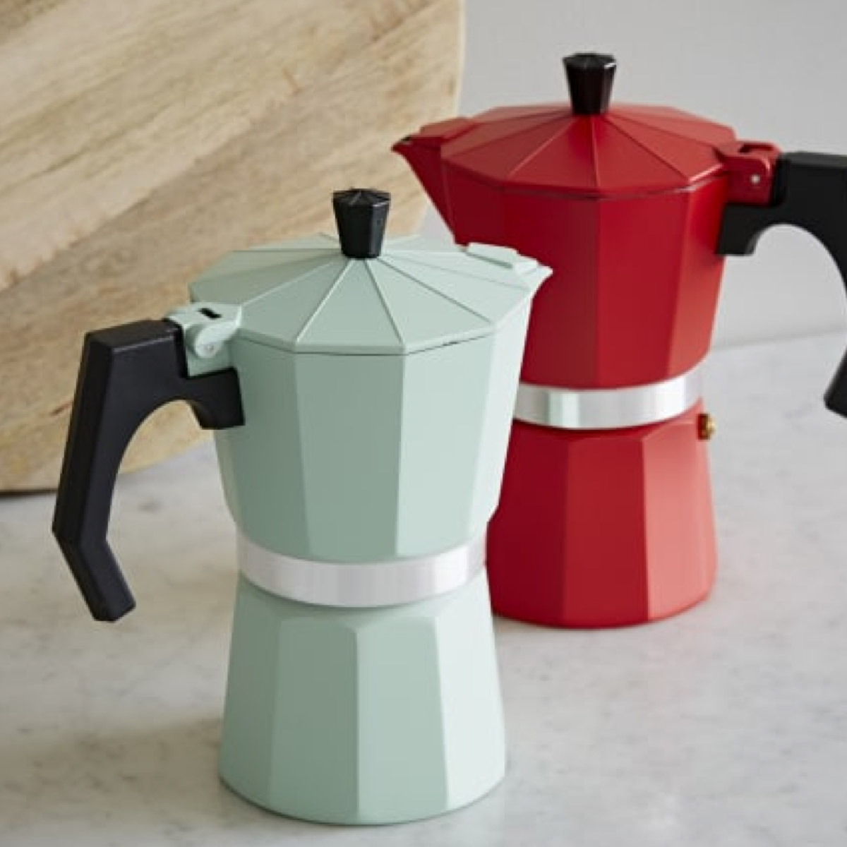 Colourful Stovetop Espresso Maker