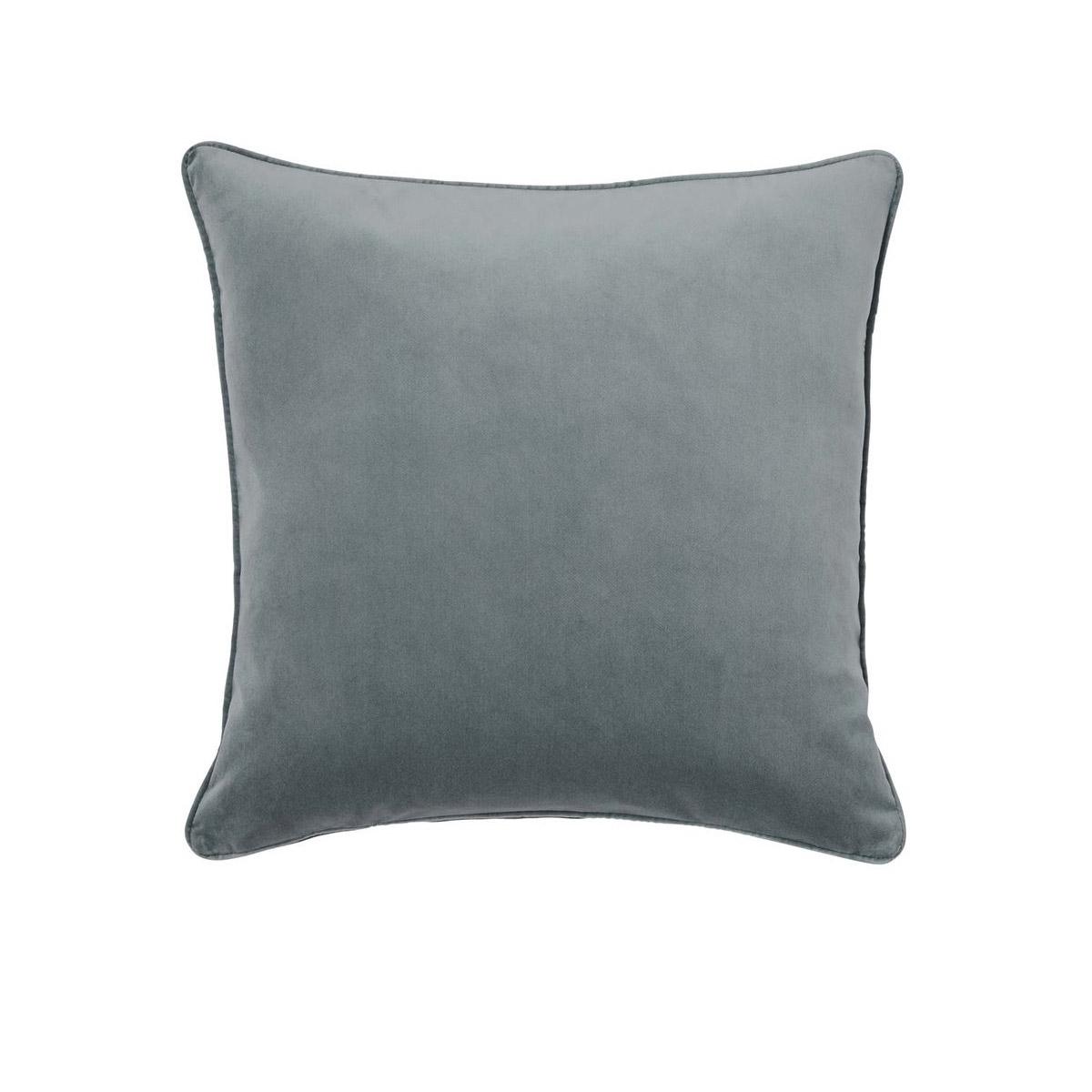 Weave velvet cushion