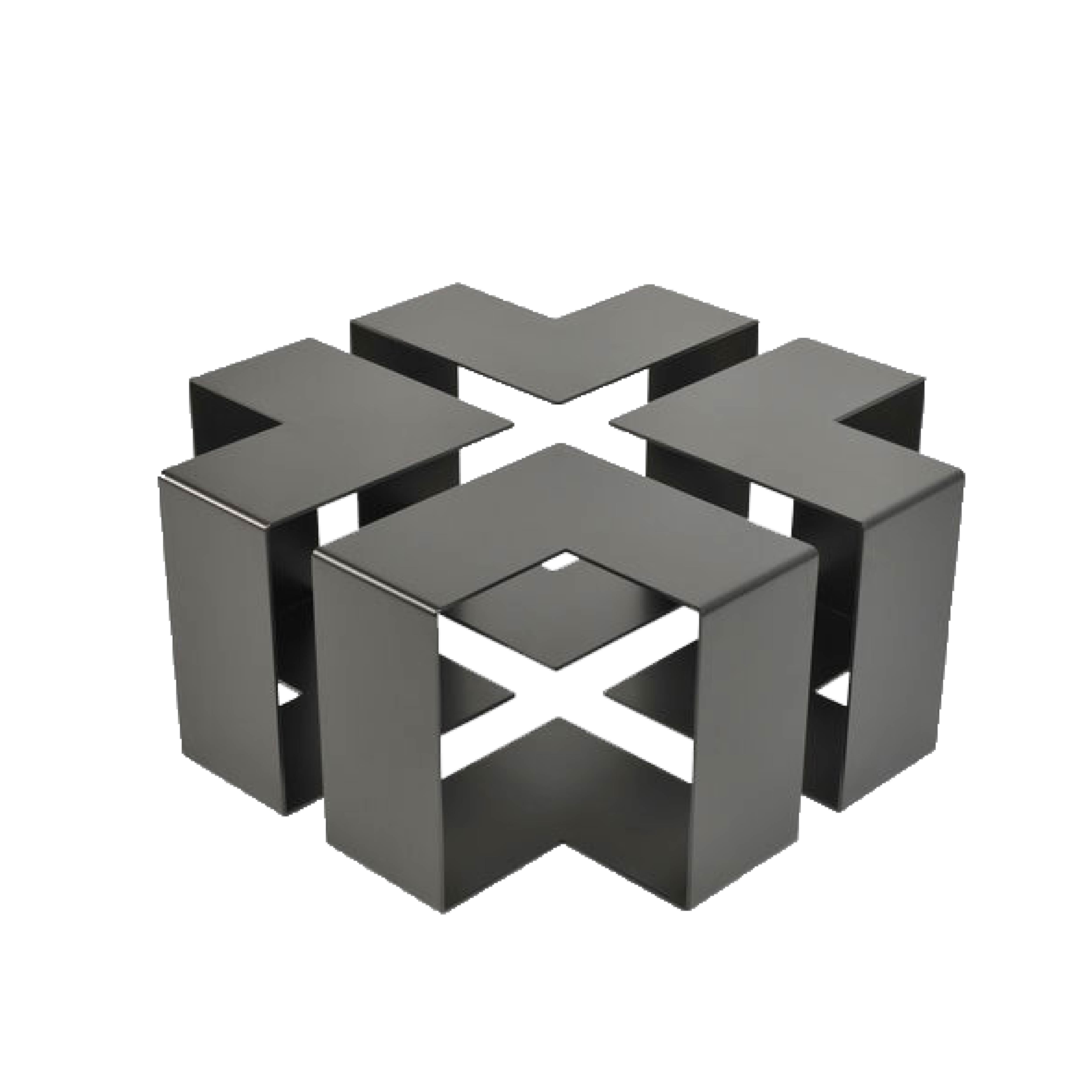 Jigsaw side table