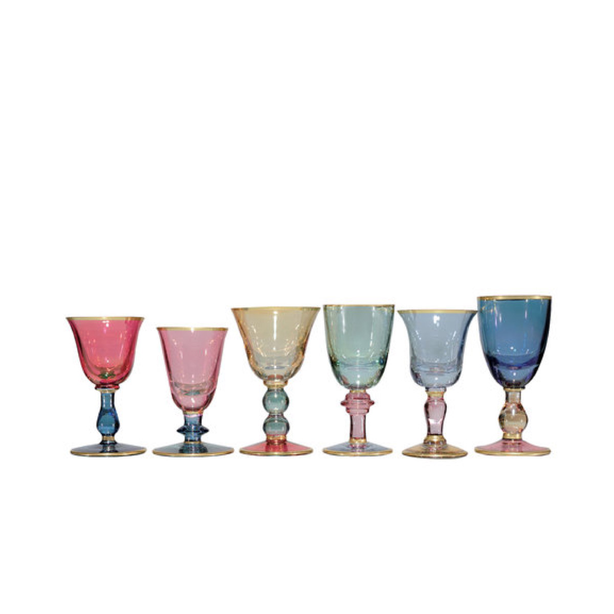 Arlecchino liquor glasses