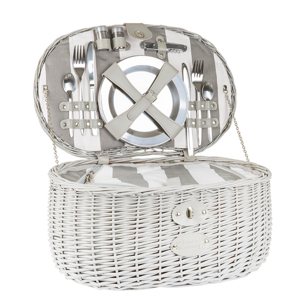 Vendome fully equipped picnic basket