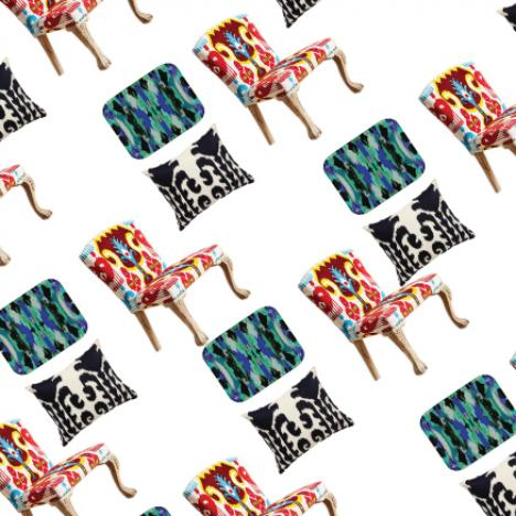 Eye-catching Ikat in 9 Ways