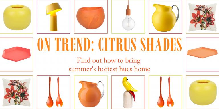 On Trend: Citrus Shades