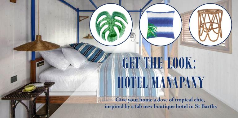 Get the Look: Hotel Manapany