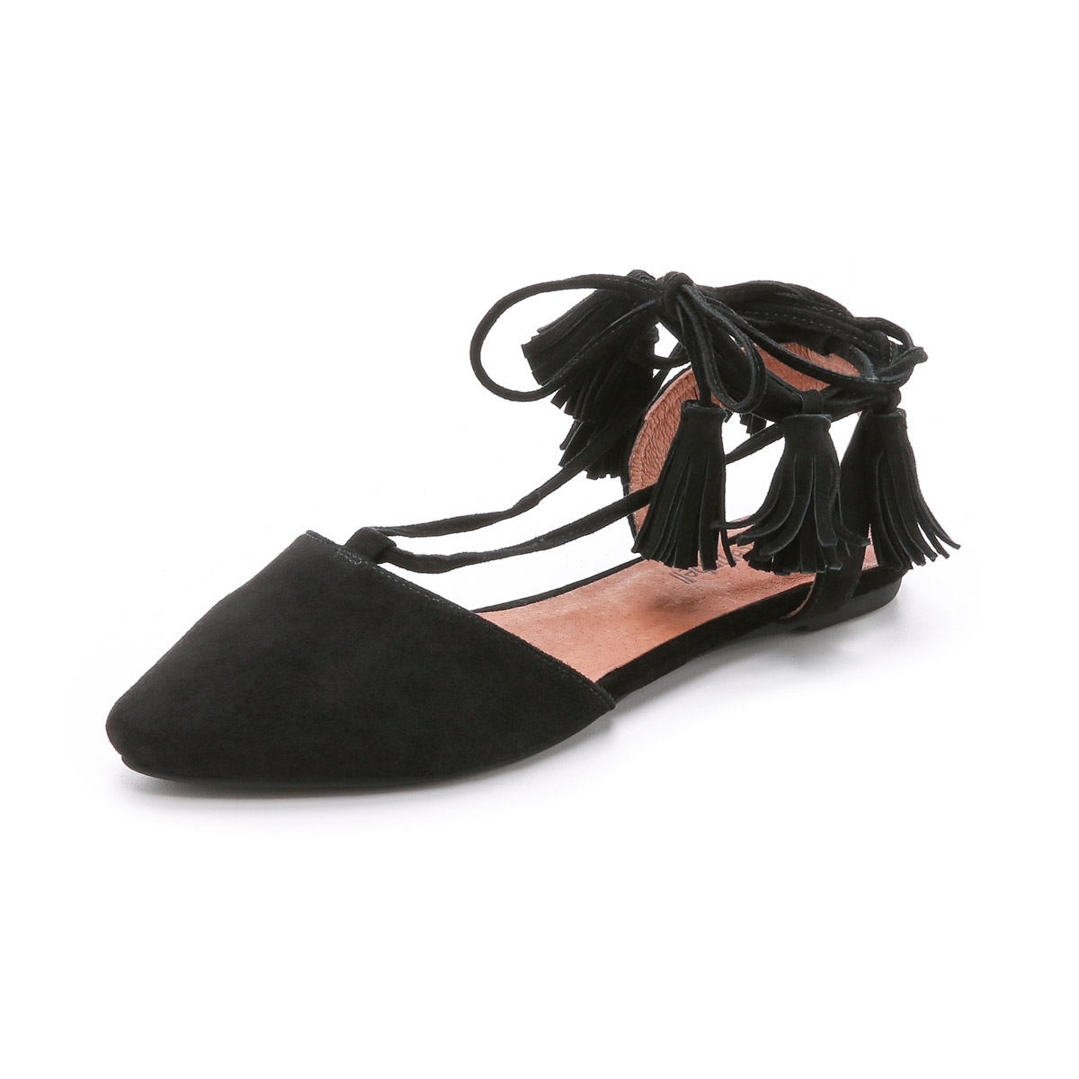 Amour Suede Flats