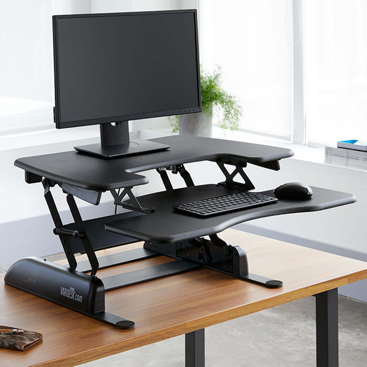 Standing Desk Converter Dual Monitor 100 Humanscale Dual